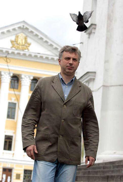 Відразу після обрання президентом НаУКМА, 2007