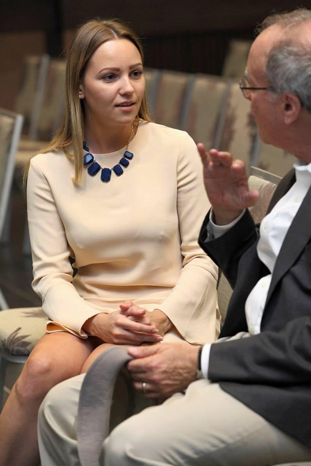 З нобелівським лауреатом Роджером Маєрсоном