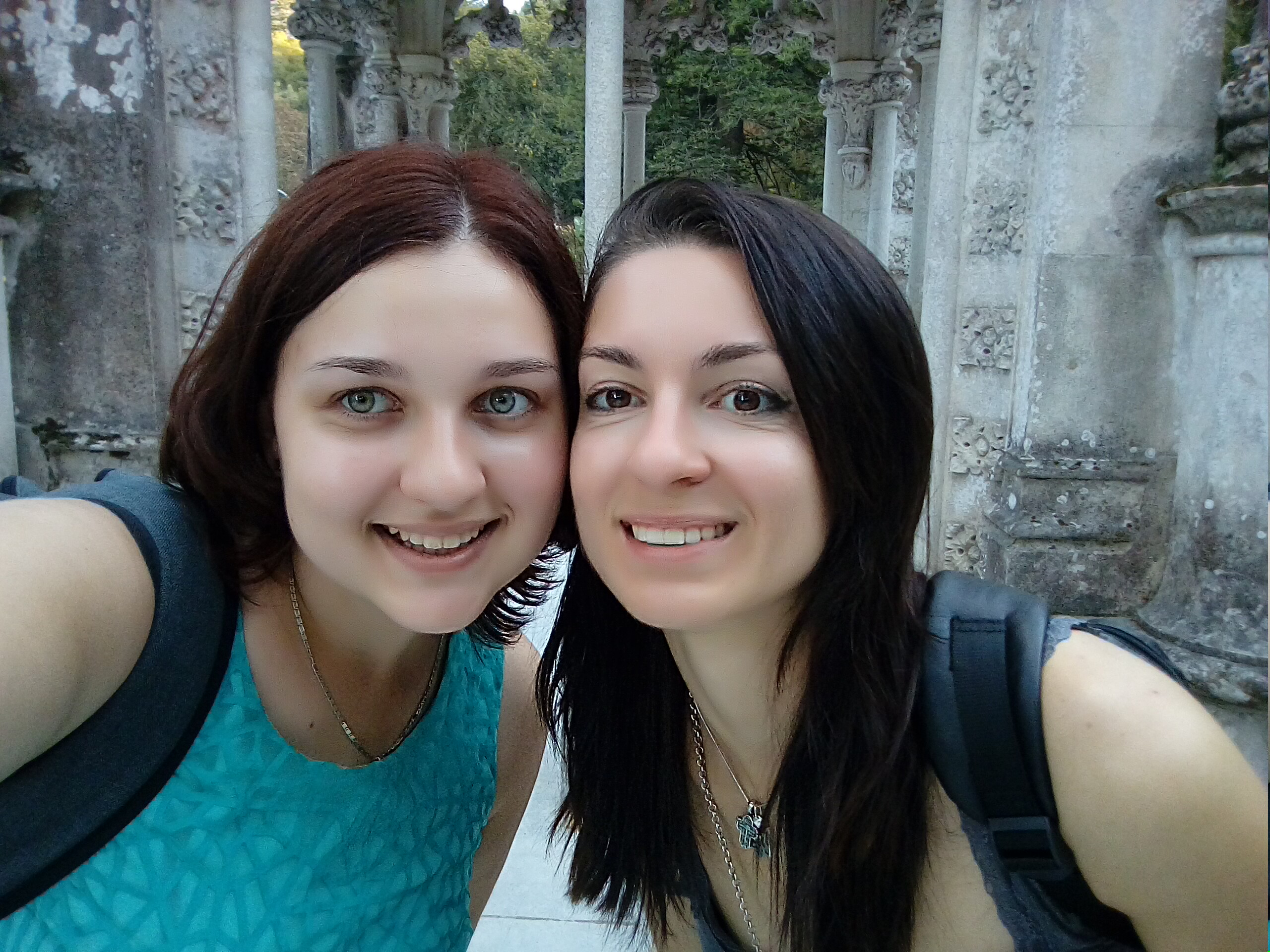 Португалія з сестрою вересень 2017