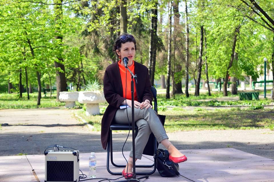 Виступ на Семінарі творчої молоді в Ірпіні, 2017