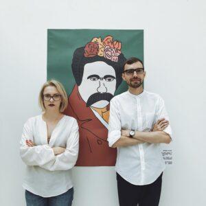 З особистого архіву Марії Дячук (з Олександром Греховим)